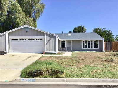 Hemet Single Family Home For Sale: 40880 Malibar Avenue