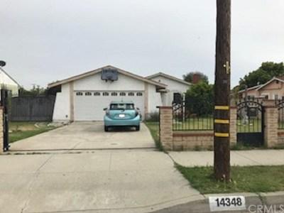 Baldwin Park Single Family Home For Sale: 14348 Ohio Street