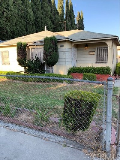 Los Angeles County Multi Family Home For Sale: 15602 S Butler Avenue