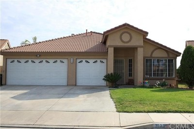 Hemet Single Family Home For Sale: 3123 Wimbledon Way