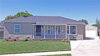Long Beach Single Family Home For Sale: 5443 E Harco Street