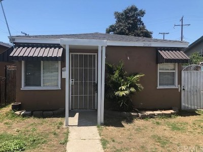 Carson Multi Family Home For Sale: 21149 S Santa Fe Avenue