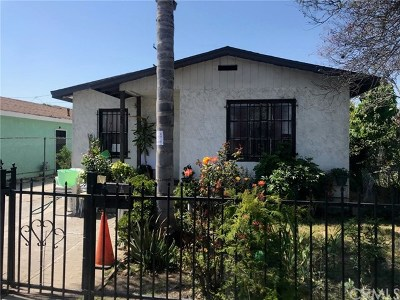 Compton Single Family Home For Sale: 322 W Reeve Street