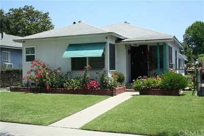 Lynwood Single Family Home For Sale: 11204 Pine Avenue