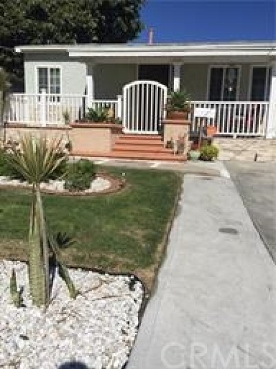 Torrance Single Family Home For Sale: 1663 W W 214th Street