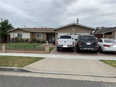 Cypress Single Family Home For Sale: 8801 Lanett Street