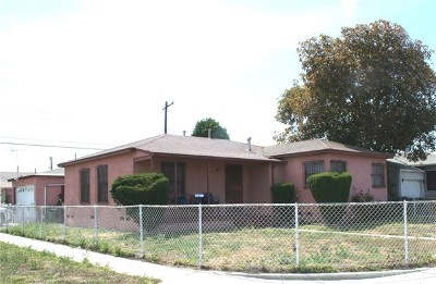 Compton Single Family Home For Sale: 2010 N Grape Avenue