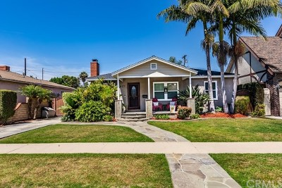 Long Beach Single Family Home For Sale: 1817 Stearnlee Avenue