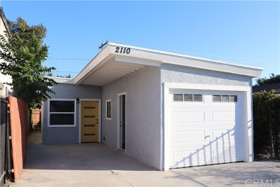 Compton Single Family Home Active Under Contract: 2110 E Knopf