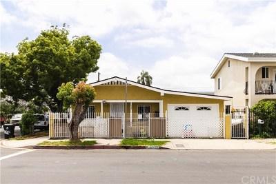 Los Angeles Single Family Home For Sale: 6827 Estrella Avenue