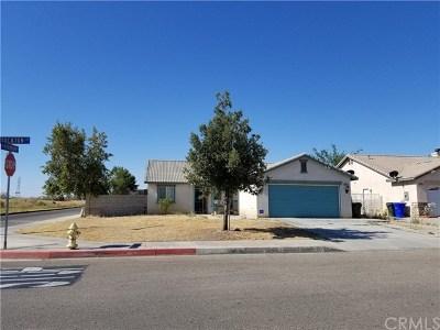 Adelanto Single Family Home For Sale: 11891 Stockton Street