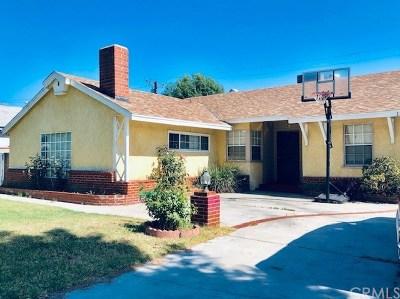 West Covina Single Family Home For Sale: 1230 E Idahome Street