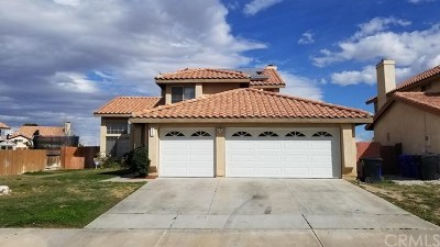 Victorville Single Family Home For Sale: 12805 Jade Road