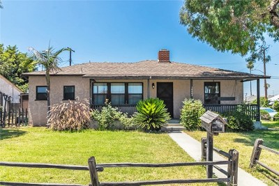 Bellflower Single Family Home For Sale: 14403 Cabell Avenue