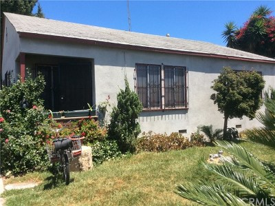 Compton Single Family Home For Sale: 1742 N Spring Avenue