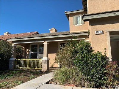 Winchester Single Family Home Active Under Contract: 31616 Stockton Street