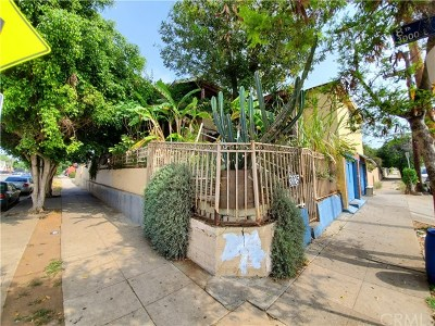 Los Angeles Single Family Home For Sale: 3025 E 8th Street