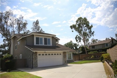Fullerton Single Family Home For Sale: 1773 Deerwood Drive