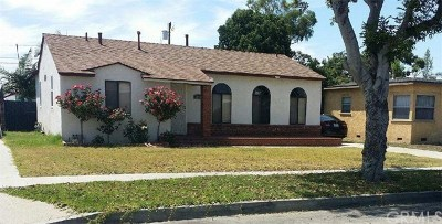 Norwalk Single Family Home For Sale: 11348 Cresson Street