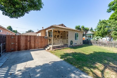 Long Beach Single Family Home For Sale: 2134 W Canton Street