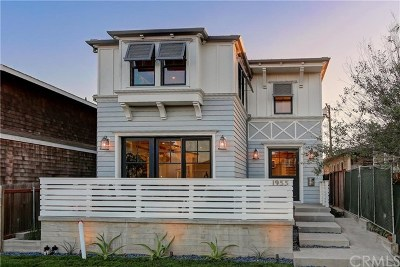 Hermosa Beach Single Family Home For Sale: 1955 Monterey Boulevard
