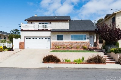 El Segundo Single Family Home For Sale: 754 Hillcrest Street