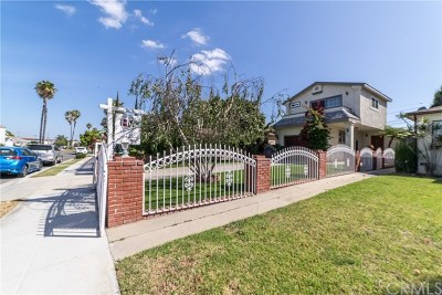 Los Angeles County Single Family Home For Sale: 631 Sartori Avenue