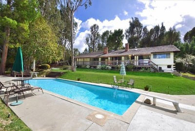 Los Angeles County Single Family Home For Sale: 10 Saddleback Road