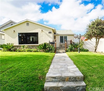 Torrance Single Family Home For Sale: 1015 Arlington Avenue