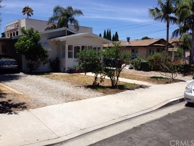 Lomita Multi Family Home For Sale: 25631 Cypress