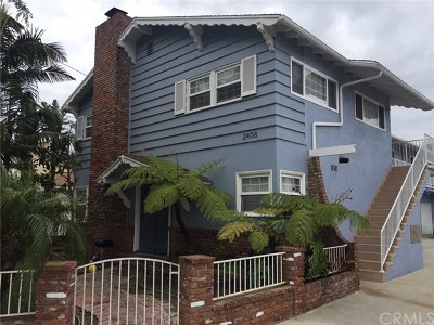 Redondo Beach Multi Family Home For Sale: 2408 Grant Avenue