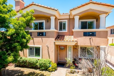 Los Angeles County Condo/Townhouse For Sale: 18305 Amie Avenue