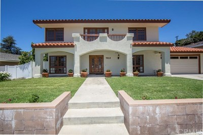 Rancho Palos Verdes Single Family Home For Sale: 7013 Clovercliff Drive