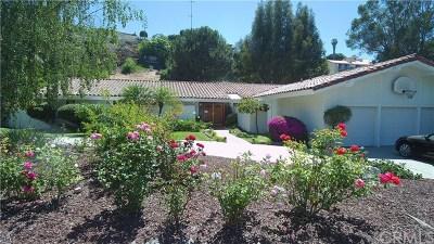Palos Verdes Estates Single Family Home For Sale: 1657 Cataluna Place