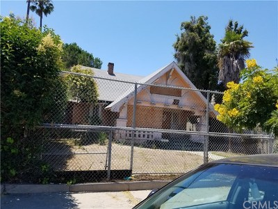 Los Angeles Multi Family Home For Sale: 3417 4th Avenue