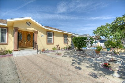 Los Angeles County Single Family Home For Sale: 2701 183rd Street