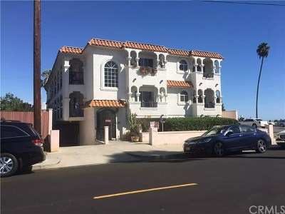 Multi Family Home For Sale: 1606 S Palos Verdes Street