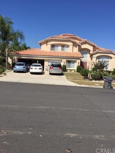 Corona Single Family Home For Sale: 2920 Vista Del Monte Way