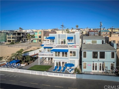 Hermosa Beach Single Family Home For Sale: 3500 The Strand