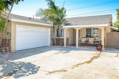 Torrance Single Family Home For Sale: 1072 Clarion Drive