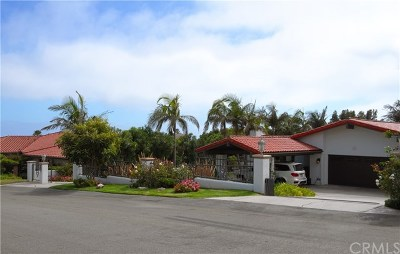 Rancho Palos Verdes Single Family Home For Sale: 6968 Alta Vista Drive
