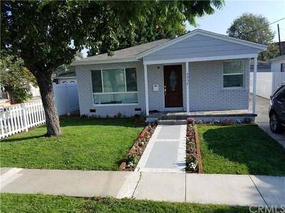 Torrance Single Family Home For Sale: 3952 W 171st Street
