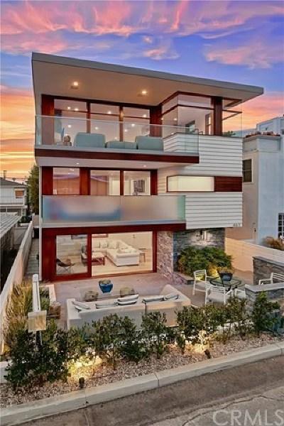 Manhattan Beach Single Family Home For Sale: 461 27th Street