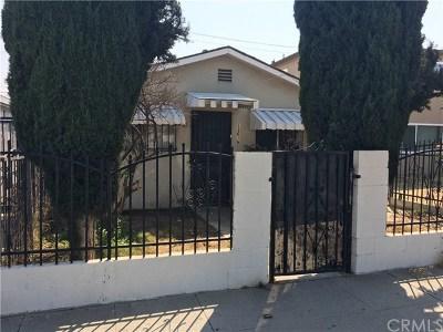 Los Angeles Single Family Home For Sale: 13616 Avalon Boulevard