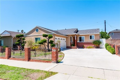 Torrance Single Family Home For Sale: 18711 Cerise Avenue
