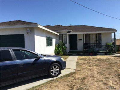 Compton Single Family Home Active Under Contract: 1406 W 156th Street