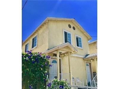 Gardena Single Family Home For Sale: 15408 S Vermont Avenue