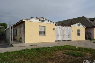 Los Angeles Multi Family Home For Sale: 7808 S Western Avenue