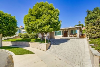 San Pedro Single Family Home For Sale: 1606 W 23rd Street