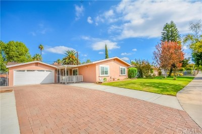 Riverside Single Family Home Active Under Contract: 4095 Wayne Court